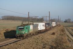 BB 27001M sur l'AFPL (SylvainBouard) Tags: sncf bb27000 train fret afpl ferroutage