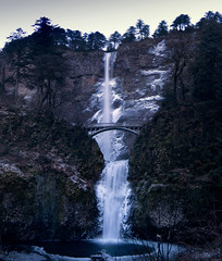 Crispy Morning (gwendolyn.allsop) Tags: multnomah waterfall oregon columbia gorge pnw water cascade ice cold
