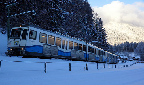 Cogwheel train to the Zugspitze