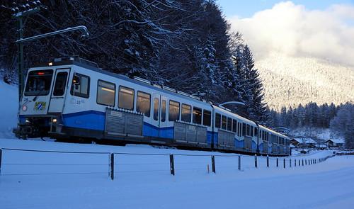 Cogwheel train to the Zugspitze