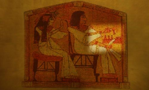 "Senet - Lujoso sistema de objetos lúdicos obsequio del dios Toht a la faraona Nefertari • <a style=""font-size:0.8em;"" href=""http://www.flickr.com/photos/30735181@N00/32369505272/"" target=""_blank"">View on Flickr</a>"