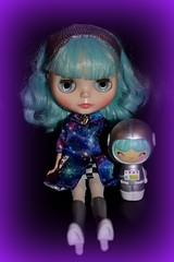 Outer Space is the Place to Be! 19/365 (Bebopgirl1969) Tags: blythe ufoagogo momiji explore outerspace