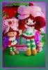 strawberry rag doll❤️ (sugarelf) Tags: character strawberryshortcake doll ragdoll crochet amigurumi cute plush yarn handmadebyme craft