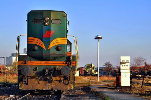 EMD G16 waiting for fuel