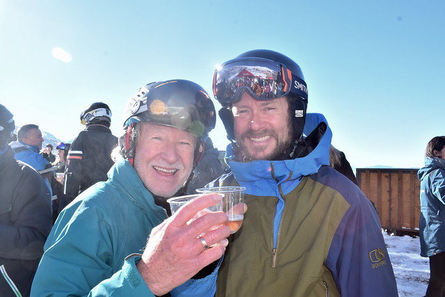 Guenther Kaeser & Chris Walsh Cheersing the Season