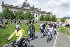 Biking in Leipzig