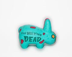 Zombie Labbit (WuzOne) Tags: painting walking dead diy geek zombie vinyl kidrobot collectible custom commission dunny labbit vinyltoy munny thewuz wuzone