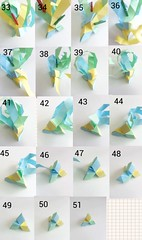 Ice Tetrahedron Photo Tutorial 3 (hyunrang) Tags: ice origami tutorial tetrahedron hur paperstrip