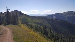The Klahhane Ridge Trail in Olympic NP