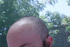 IMG_0029 (weirdokay) Tags: boyfriend bearman shavedhead shavedheadbear housesittingweek3