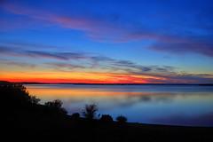 June 17 2008 (Kansas Poetry (Patrick)) Tags: sunset lake skies kansas clintonlake patrickemerson patricknancyforever
