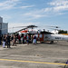 A SIKORSKY Knighthawk drawing in the crowds...