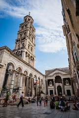 Cathedral and Bell Tower of St. Domnius (JFLI0325) Tags: leica croatia m split asph cpl 21mm superelmar