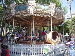 LE CARROUSEL (marsupilami92) Tags: paris france vacances frankreich ledefrance capitale 75 lavillette tourisme carrousel manege parisplage 19emearrondissement