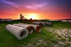 Abandoned [explored] (fiz_zero) Tags: world longexposure sunset wallpaper sky sun nature landscape nikon asia natural outdoor background awesome explore malaysia filters perak gndfilter singhray leefilter reversegnd nikon1635mmf4vr nikond750