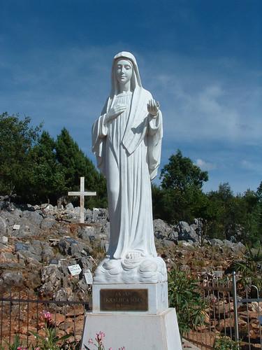 Međugorje, Szűz Mária megjelenésének színhelye