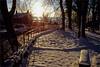 malham morning (Ron Layters) Tags: malham malhambeck morninglight winter snow ice river village christmas villagegreen cawden beck reflection sun yorkshiredales yorkshire northyorkshire england unitedkingdom slidefilmthenscanned slide transparency fujichrome velvia pentax mz10 pentaxmz10 ronlayters