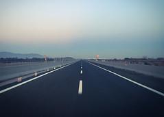 Collesalvetti (Alessandro Banducci * Ganaverre) Tags: strada autostrada street carretera autopista highway sky cielo carreggiata guardrail infinito infinity orizzonte fuga via freddo cold minimalism pov