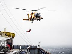 U.S. Coast Guard (-gregg-) Tags: us coast guard storm helicopter cruise ship ocean sea incredible proud
