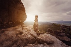 Barbarine (blende einspunktacht) Tags: landscape landschaft backtonature natur nature rocks sächsischeschweiz barbarine