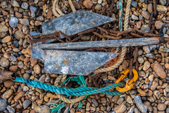 Ropes, Anchor and Chain, Hastings Beach (Peter Cook UK) Tags: hastings beach fishing anchor sussex rope