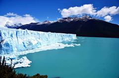 Perito Moreno Glacier_North face (franciscogualtieri) Tags: argentina santacruz elcalafate glacier peritomoreno· nikond7000 sky clouds lake lagoargentino mountains