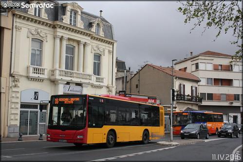 Man Lion's City M - Transdev Urbain / Béziers Méditerranée Transports n°515