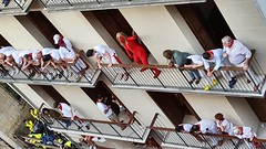Balconys attracts different people!