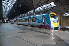 "New Transpennine Express Liveried Class 185, 185144 (37190 ""Dalzell"") Tags: tpe transpennineexpress northernstar silvergrey turquoisepurple firstgroup siemens desiro class185 185144 scarborough"