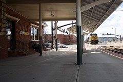 Subway Station (ajketh) Tags: csx csxt coal hopper train freight railroad ge general electric brice duke power station subway platform 304 cw44ac ac4400 dkpx fayetteville nc north carolina