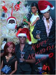 Happy Holidays 2016 (FashionDragon) Tags: jordan splendid dariusreid playingitcool stayingpower poppyparker justmystyle africanamerican blackbarbie fashionroyalty fashiondoll designerdoll byronlars jasonwu stephenburrows bobmackie integritytoys