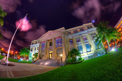 West Palm Beach Historical Courthouse (Mike Sperduto) Tags: westpalmbeach florida unitedstates us courthouse downtownwestpalmbeach longexposure cloud porn clouds nightphotography mikesperduto mike sperduto photography