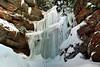 La grotte de Percé (pascal_roussy) Tags: chutedeau waterfall eau water glace ice hiver winter paysage landscape percé gaspésie québec canada nature nikon d3100