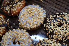 Fat Pills (Let Ideas Compete) Tags: sweet chocolate doughnuts donuts doughnut donut fattening food peanuts sprinkles calories decadent icing sugar sugary donteatthese unhealthy macrodesserts