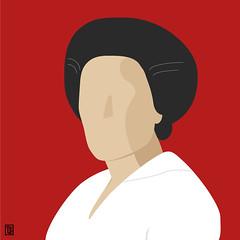 Rosa Luxemburg (Yelena Maria Drinkie) Tags: rosaluxemburg revolutionay marxist socialist woman digitalillustration digitalportrait portrait ritratto tribute omaggio graphicdesign