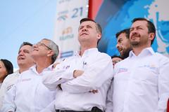 Fausto Cobo, Andrés Páez & Fabricio Villamar (samuraijuan) Tags: creo 21 campaña electoral 2017 ecuador andres paez politico politician vicepresidente candidato