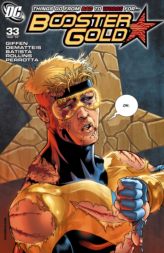 Booster Gold (2007) #33