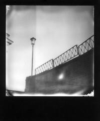 Lampione (Valt3r Rav3ra - DEVOted!) Tags: polaroid polaroid600 instantfilm instantcamera impossible bw biancoenero blackandwhite valt3r valterravera visioniurbane urbanvisions streetphotography street lampione lamps