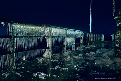L'embarcadaire d'Yvoire sous la Glace 2 (Franck Baduel) Tags: léman arctique polaire glace tempète yvoire evian