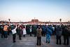 Tiananmen Throng (China Chas) Tags: 1022mm 2017 beijing china tiananmensquare flagraisingceremony sunrise