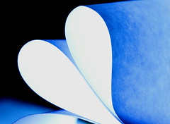 Paper Heart (acwills2014) Tags: macromondays paper whitepaper abstract heart justwhitepaper minimalistic