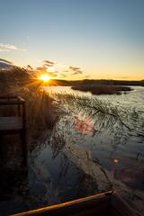 La Marjal dels Moros (Millán Martínez) Tags: sunstar lamarjaldelmoros atardecer naturaleza paisaje humedal laguna