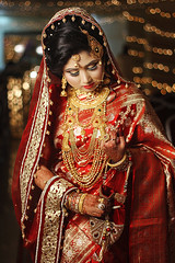 Tamanna 3 (HasanSajid) Tags: wedding beauty bride portrait pretty pose bliss colors light