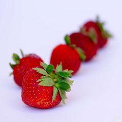 Strawberries (AmyAbon) Tags: fruits closeup strawberries