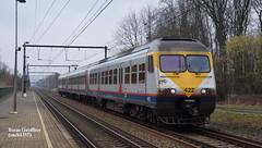 AM 422 (sncb1357) Tags: train sncb sncf nmbs cfl treinen belgique locomotive traxx crossrail