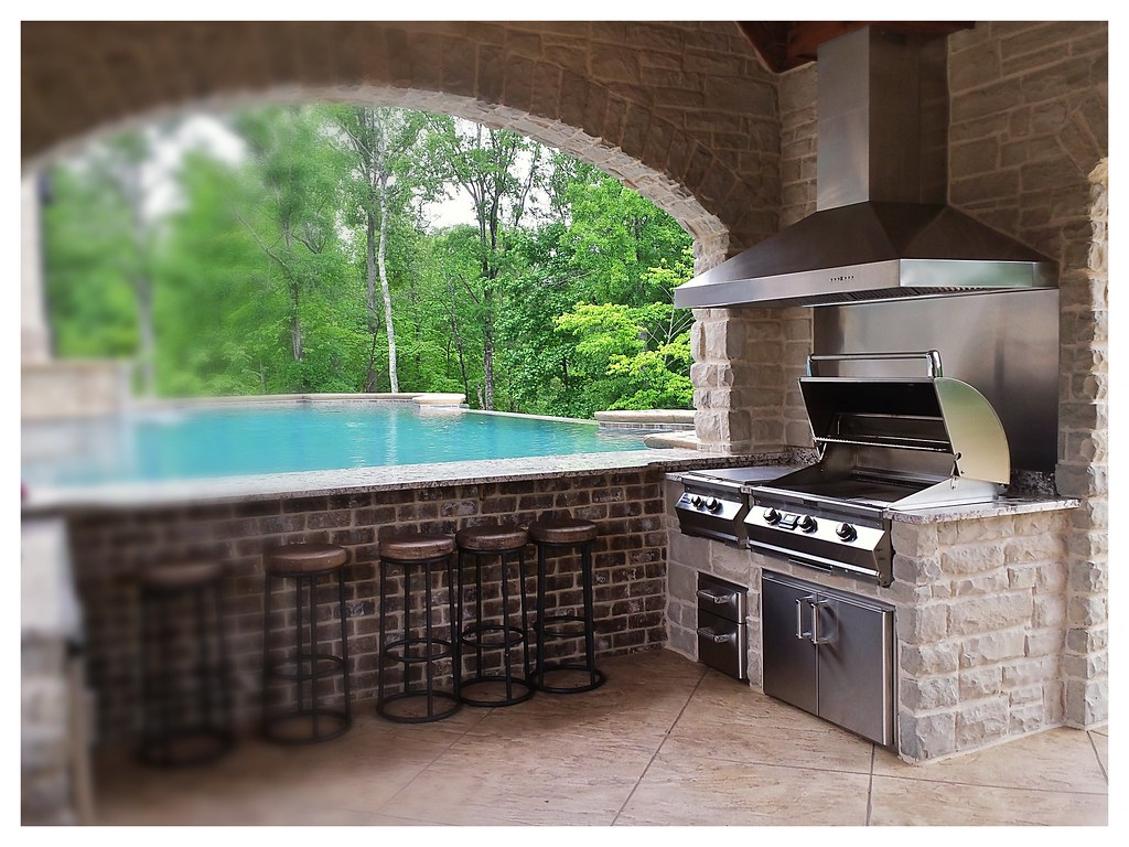 Custom Outdoor Kitchen, Soddy Daisy, Tn.