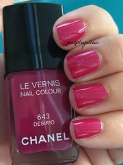 Chanel Desirio (purple yellow) Tags: nail polish chanel desirio