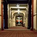 Looking Down a Hallway at The Stanley Hotel
