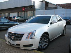 Cadillac CTS 3.0 2010 (RL GNZLZ) Tags: 30 cadillac 2010 v6 cts whitecars