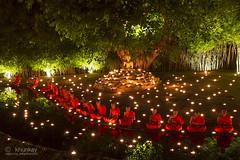 wat_pantao_29r1 (khunkay's gallery) Tags: beautiful festival lights bokeh เชียงใหม่ บวช พระ yeepeng เทียน โบเก้ เณร จุดเทียน สวดมนต์ วัดพันเตา ระเบิดซูม นั่งสมาธิ ผางประทีป วันพระ พุทธบูชา